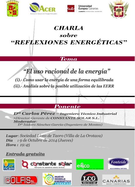 Charlas Reflexiones Energeticas